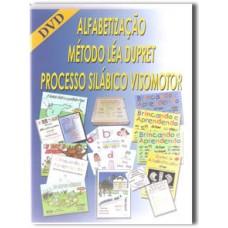 DVD-AULA ENSINANDO A APLICAR O MÉTODO LÉA DUPRET - ALFABETIZAÇÃO - ENSINO FUNDAMENTAL 1.